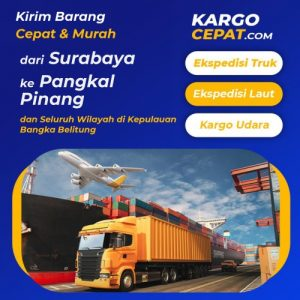 Read more about the article Ekspedisi Surabaya Pangkal Pinang