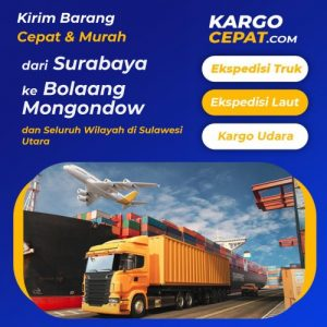 Read more about the article Ekspedisi Surabaya Bolaang Mongondow
