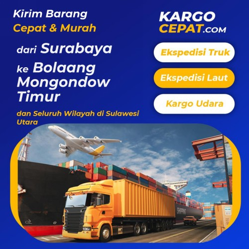 ekspedisi surabaya bolaang-mongondow-timur