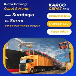 Read more about the article Ekspedisi Surabaya Sarmi