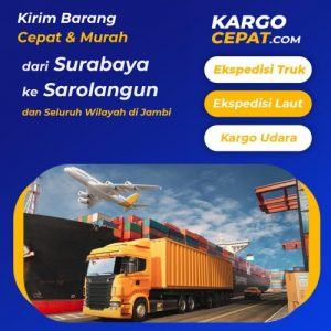 Read more about the article Ekspedisi Surabaya Sarolangun