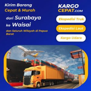 Read more about the article Ekspedisi Surabaya Waisai